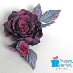 Mother's Day rose brooch