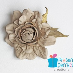 Promotion on brooches and corsages