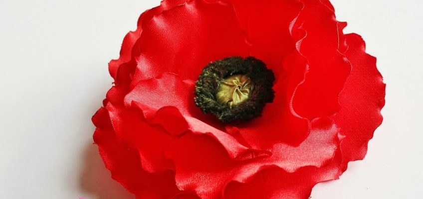 New tutorial out! Ever so popular poppy – let's get creative this autumn