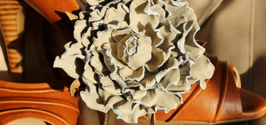 Leather flowers to cater for all tastes this autumn