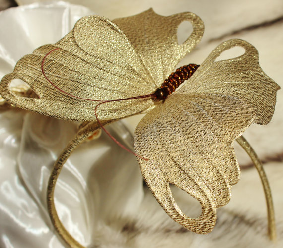 how to make a butterfly fascinator