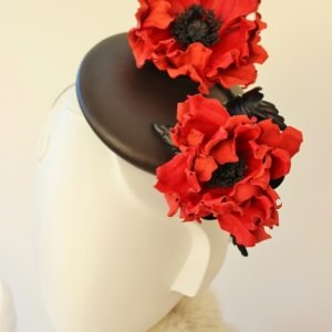 19 February 2018 Leather Poppy workshop