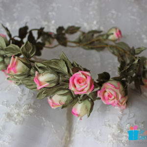 Wedding hair wreath