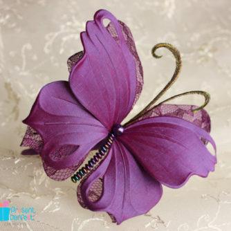 purple butterfly headband 3