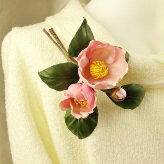 silk camellias