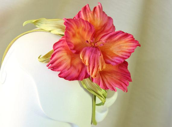 Velvet Gladiolus Flower
