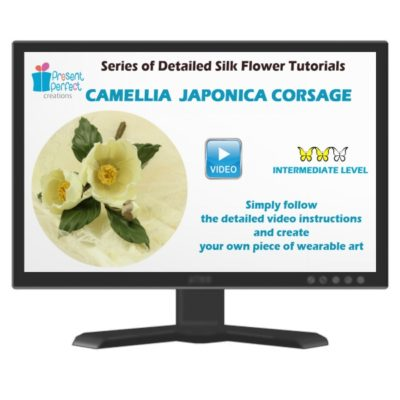 Silk Camellia Japonica Video Tutorial