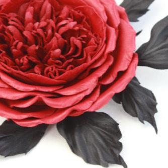red English rose 3