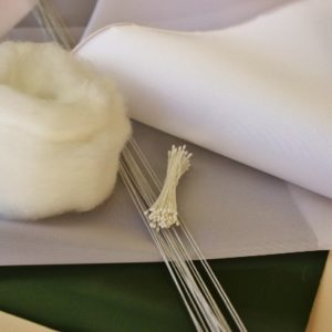 DIY Material Kit for making a Camellia Japonica Corsage