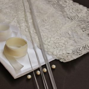 DIY Material Kit for making a Lace Orchid Hair Circlet