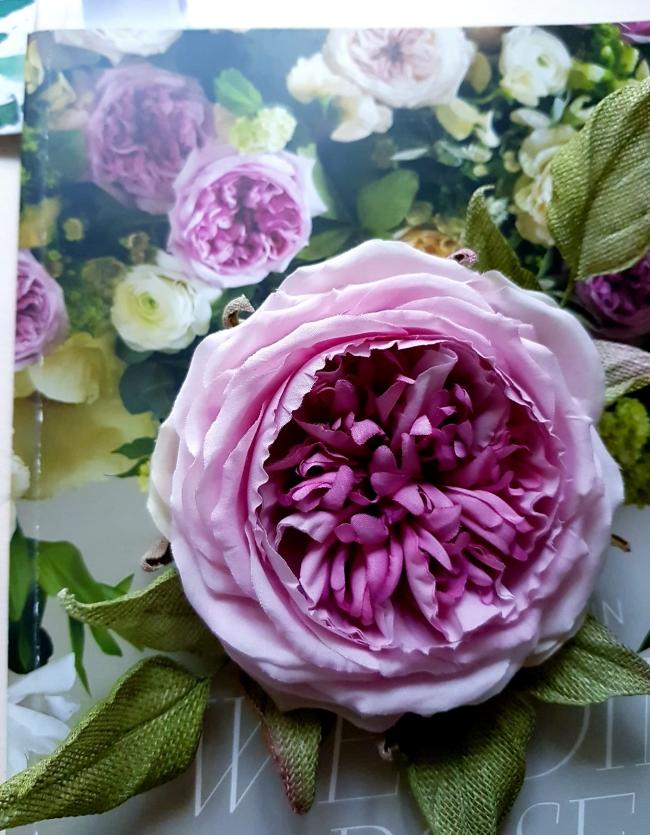 silk english rose tutorial book