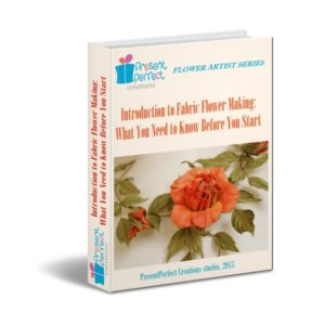 Introduction to fabric flower making ebook (pdf)