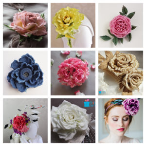 9 February 2019 – one day advanced one-to-one flower making workshop