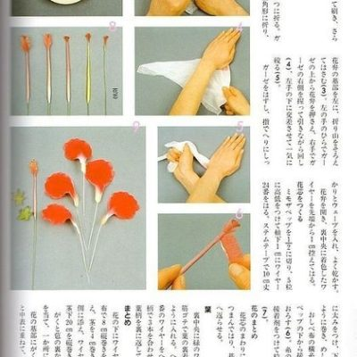 fabric flower making books