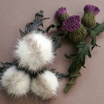 two leather thistles