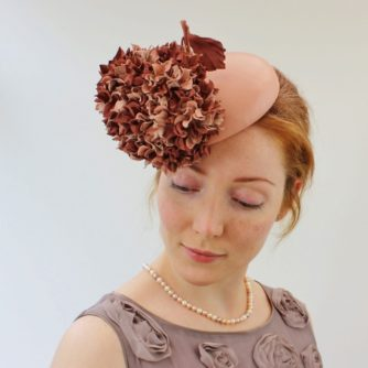 leather cocktail hat with hydrangea 2 (500x500)