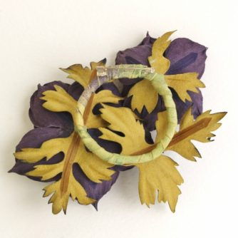lilac leather anemone brooch back (500x499)