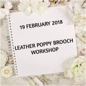 leather poppy workshop