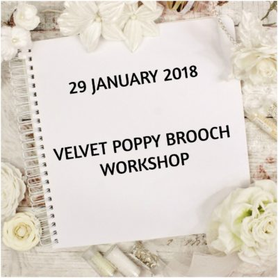 velvet poppy workshop