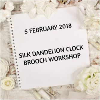 silk dandelion clock workshop