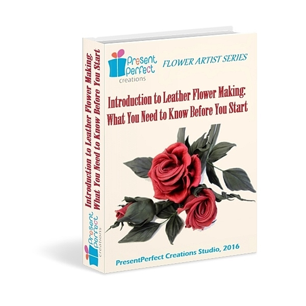 introduction to leather flower making ebook