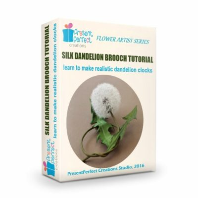 silk dandelion clock tutorial