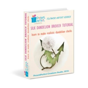 Silk dandelion tutorial