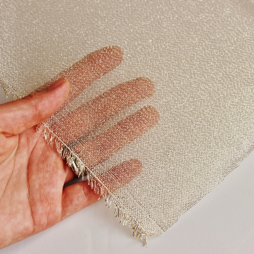 golden backing fabric