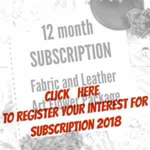 12 month Fabric & Leather Subscription package'17