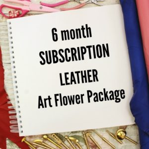 6 month Subscription LEATHER Package