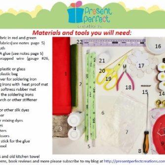 materials tools camellia