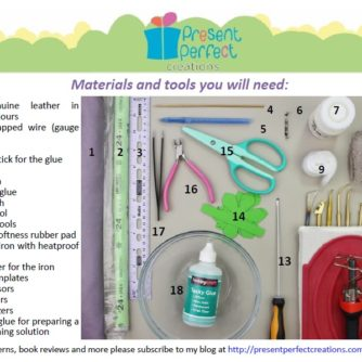 dahlia tools and materials