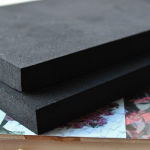 Rubber pads for millinery tools