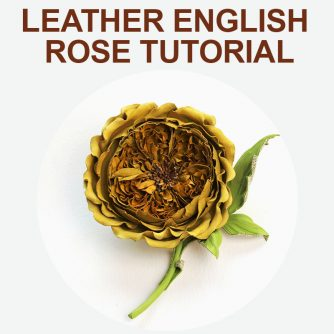 Leather English Rose Tutorial