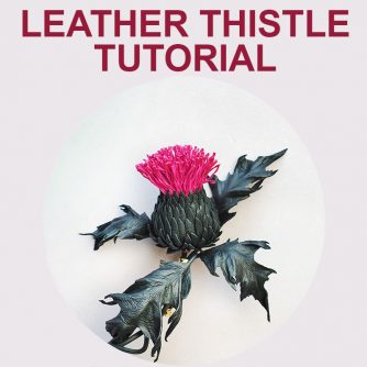 Leather Thistle Tutorial