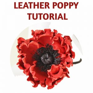 leather poppy tutorial