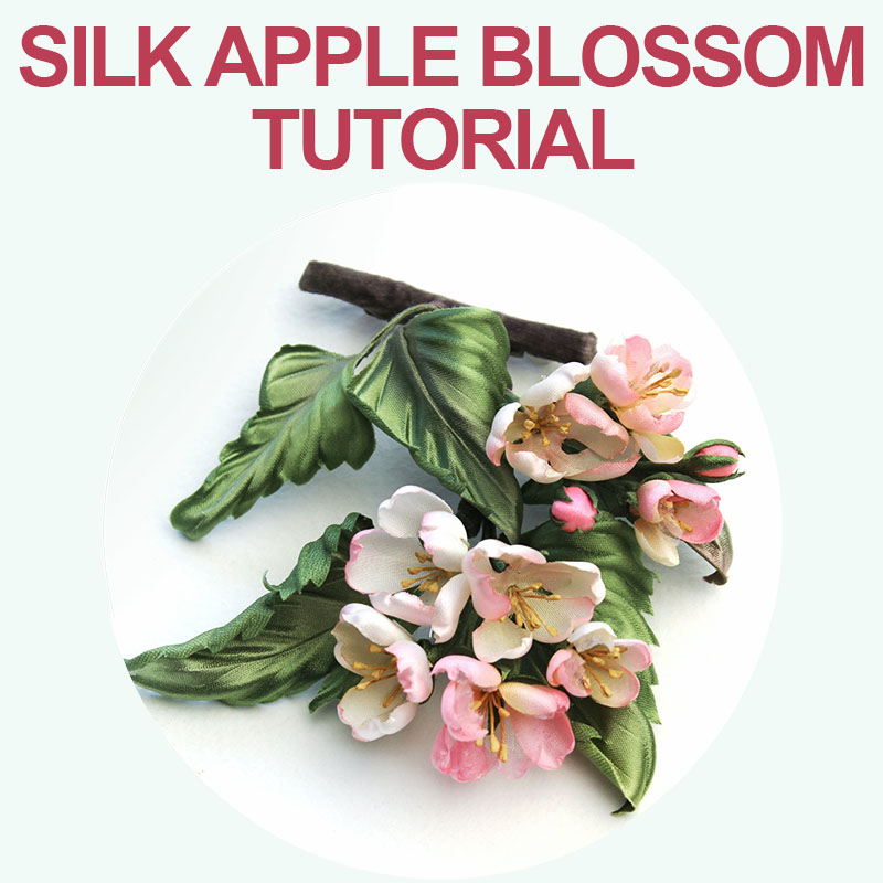 Silk Apple Blossom Tutorial