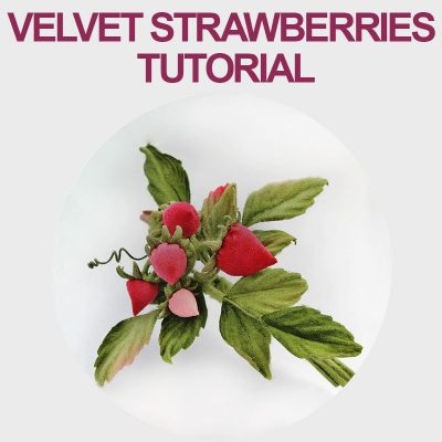 Velvet Strawberry Tutorial
