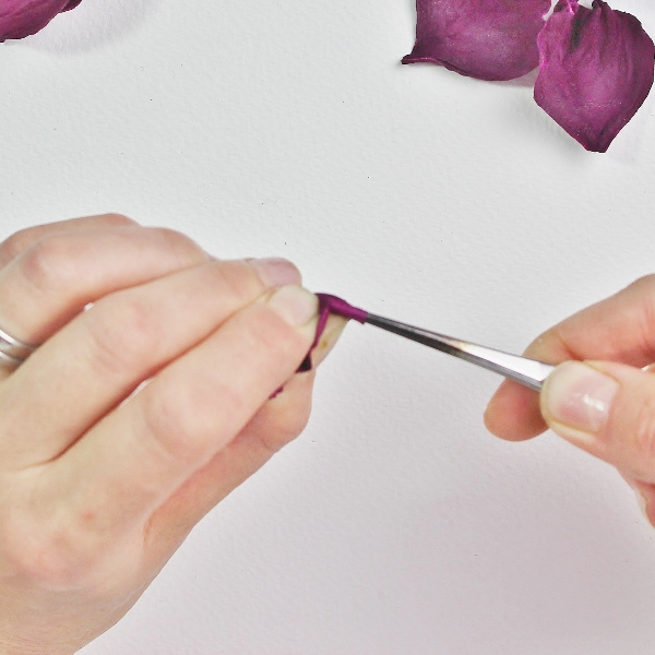 flower shaping tweezers