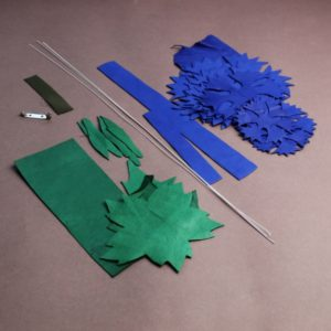 leather cornflower kit