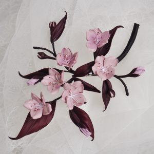 leather cherry blossom