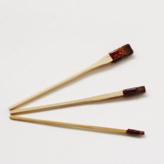 silk painting brushes