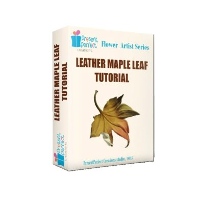 leather maple leaf tutorial cover