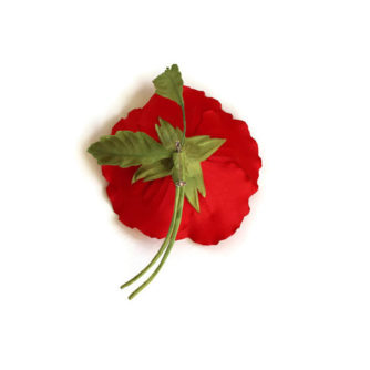 remembrance poppy brooch