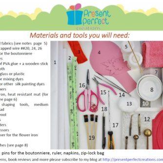 materials calla lily