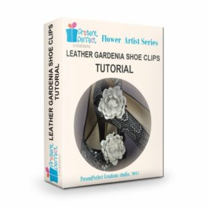 leather shoe clips tutorial