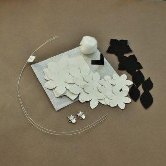 leather gardenia kit