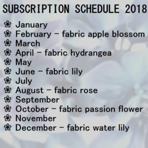 6 month Subscription 2018 FABRIC Package