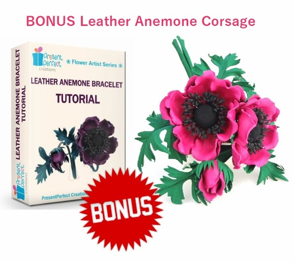 BONUS leather anemone corsage ad (600x534)