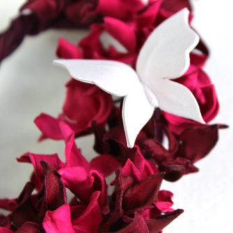 pink hydrangea brooch 2